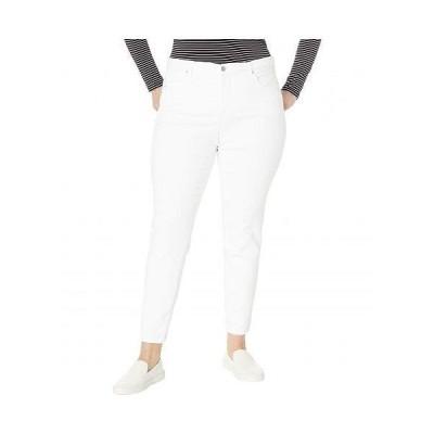 NYDJ Plus Size エヌワイディージェー レディース 女性用 ファッション ジーンズ デニム Plus Size Ami Skinny in Optic White - Optic White