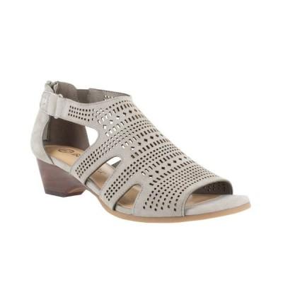 ベラヴィータ Bella Vita レディース サンダル・ミュール ウェッジソール シューズ・靴 Quinby Wedge Sandals Stone Suede Leather