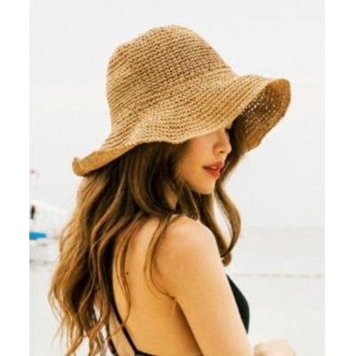 SETUP7 / 【MAISON BREEZE】麦わら帽子 UV対策 WOMEN 帽子 > ハット