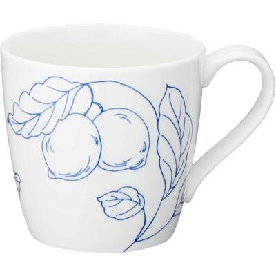 NARUMI(ナルミ) マグカップ デイプラス(Day+) ホワイト 340cc 電子レンジ オーブン 食洗機対応 41285-2889ホワイト レモ