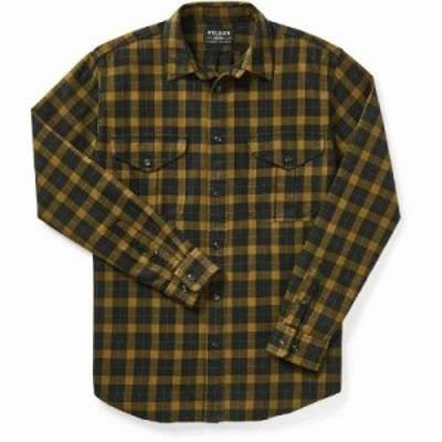 フィルソン シャツ Lightweight Alaskan Guide Shirt BLACK MUSTARD
