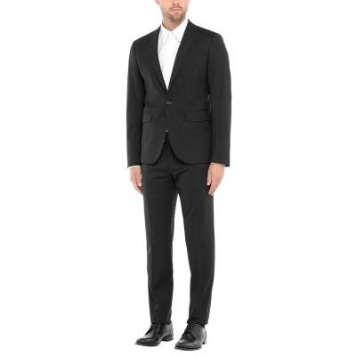 ディースクエアード DSQUARED2 スーツ ブラック 50 バージンウール 95% / ポリウレタン 5% スーツ