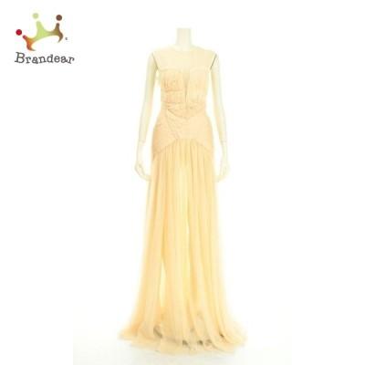 エリザベッタフランキ ドレス サイズS レディース 新品未使用 ベージュ系 ロングドレス 新着 20200929