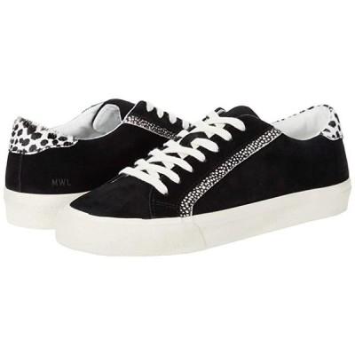 Madewell Sidewalk Low Top Sneakers レディース スニーカー Black/Ivory Multi