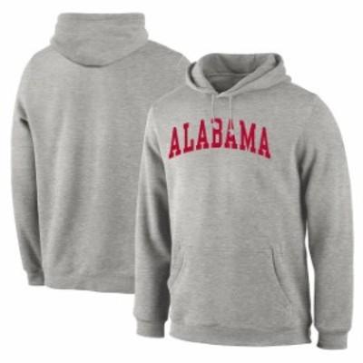 Fanatics Branded ファナティクス ブランド スポーツ用品  Alabama Crimson Tide Gray Basic Arch Pullover Hoodie