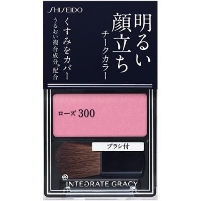 資生堂 インテグレート グレイシィ チークカラー ローズ300 (2g)
