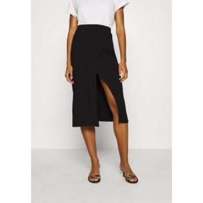 ジン レディース スカート ボトムス Pencil skirt - black black