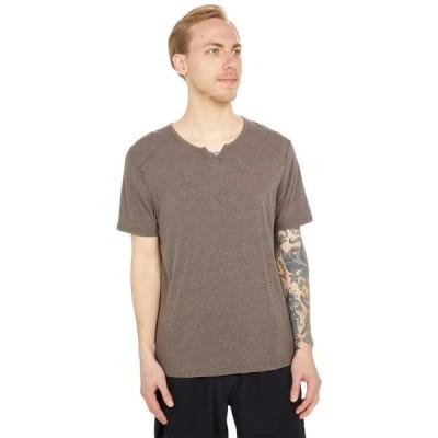 スレッズ・フォー・ソート メンズ シャツ トップス Baseline Tri-Blend Short Sleeve Notch Tee
