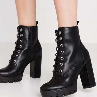 ブルボクサー レディース ブーツ High heeled ankle boots - black