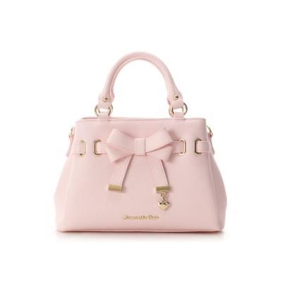 サマンサベガ ベルトリボンバッグ(小) ピンク