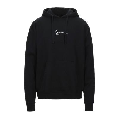 KARL KANI スウェットシャツ ブラック S コットン 80% / ポリエステル 20% スウェットシャツ