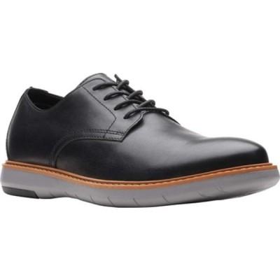 クラークス ドレスシューズ シューズ メンズ Draper Lace Up Oxford (Men's) Black/Grey Full Grain Leather