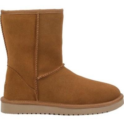 クーラブラ レディース ブーツ&レインブーツ シューズ Koolaburra Women's Short Sheepskin Boots Chestnut