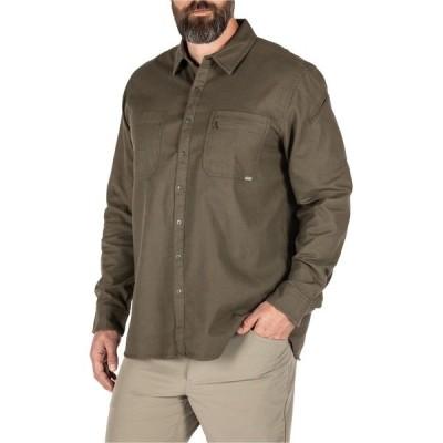 5.11タクティカル シャツ トップス メンズ 5.11 Tactical Men's Hawthorn Shirt RangerGreen