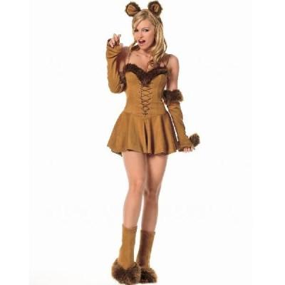 ライオン コスプレ コスチューム 大人用 ワンピースドレス オズの魔法使い 衣装 仮装