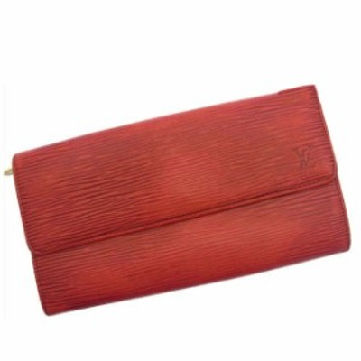 ルイ ヴィトン Louis Vuitton 長財布 財布 小物 サイフ レディース エピ 【中古】 R822