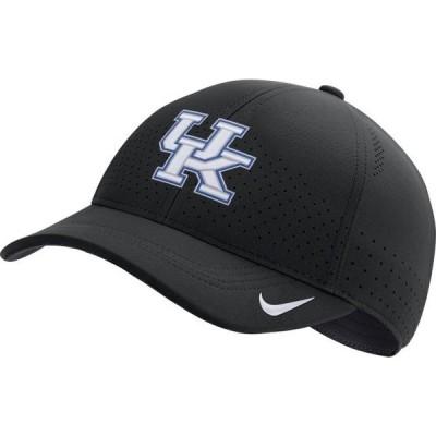 メンズ スポーツリーグ アメリカ大学スポーツ Nike Men's Kentucky Wildcats Legacy91 Adjustable Black Hat 帽子