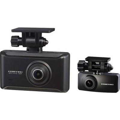 ZDR025 コムテック ドライブレコーダー 前後2カメラ 前後200万画素 WQHD FullHD GPS搭載 1年保証 衝撃録画 ZDR-025