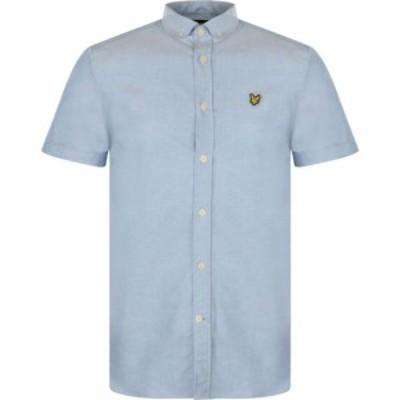 ライル アンド スコット Lyle and Scott メンズ 半袖シャツ トップス Lyle Short Sleeve Oxford Shirt X RIVIERA