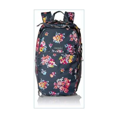 Vera Bradley Women's Lighten Up Journey Backpack, Tossed Posies並行輸入品