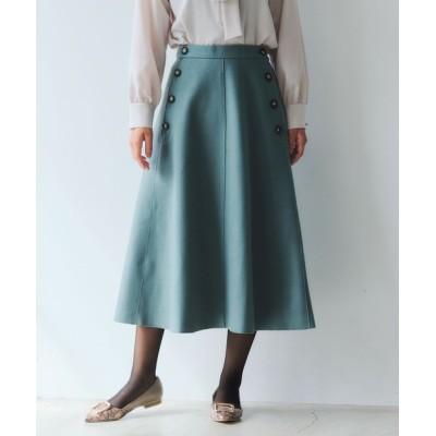 YECCA VECCA / サイド釦デザインスカート * WOMEN スカート > スカート