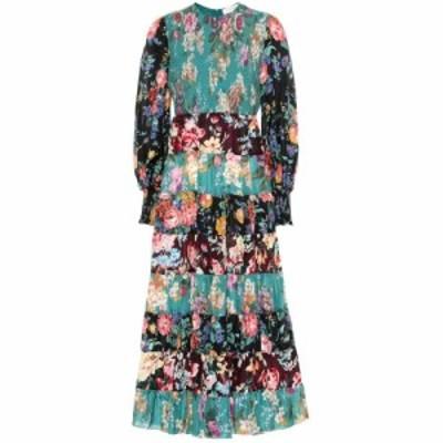 ジマーマン Zimmermann レディース ワンピース ワンピース・ドレス Allia floral silk maxi dress Spliced