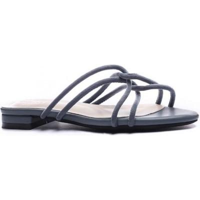 トゥエンティーエイトシューズ Twenty Eight Shoes レディース サンダル・ミュール フラット シューズ・靴 Girly Flat Sandals 6848-3 blue
