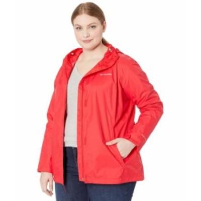 コロンビア レディース コート アウター Plus Size Arcadia II¢ Jacket Red Lily