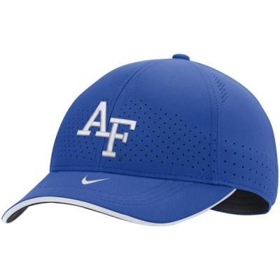 ユニセックス スポーツリーグ アメリカ大学スポーツ Air Force Falcons Nike Sideline Classic 99 Performance Flex Hat - Royal