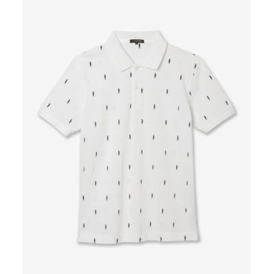(MACKINTOSH LONDON/マッキントッシュ ロンドン)ダンディーマン刺繍ポロシャツ/メンズ ホワイト