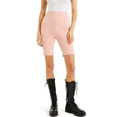 アイエヌシーインターナショナルコンセプト カジュアルパンツ ボトムス レディース CULPOS X INC Biker Shorts, Created for Macy's Blush