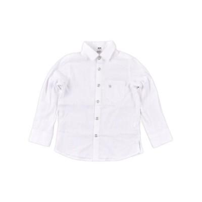 WASK/ワスク ストライプジャカードシャツ(110cm〜130cm) ホワイト系 120cm