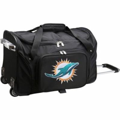 モジョ Mojo Licensing ユニセックス スーツケース・キャリーバッグ バッグ Mojo Miami Dolphins Wheeled Duffle