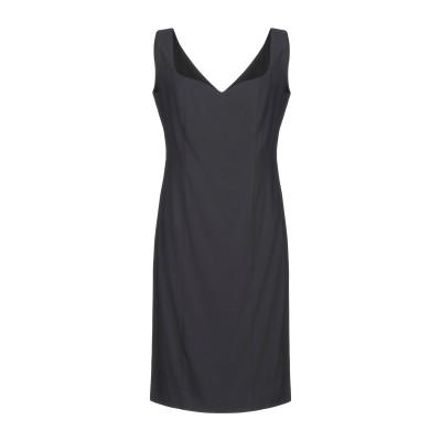 ANTILEA ミニワンピース&ドレス ブラック 42 アセテート 81% / レーヨン 16% / ポリウレタン 3% ミニワンピース&ドレス