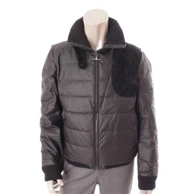 【モンクレール】Moncler メンズ キルティング ダウンジャケット 40312 ブラック 2 【中古】【正規品保証】110749