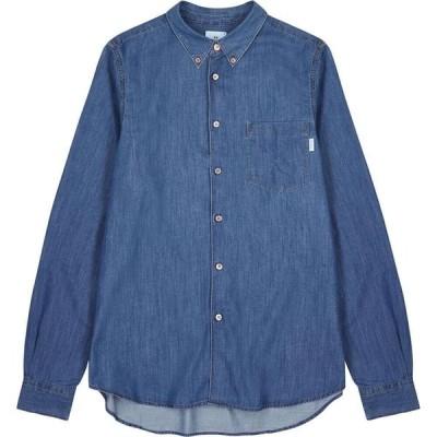 ポールスミス PS by Paul Smith メンズ シャツ シャンブレーシャツ トップス Blue Chambray Shirt Blue