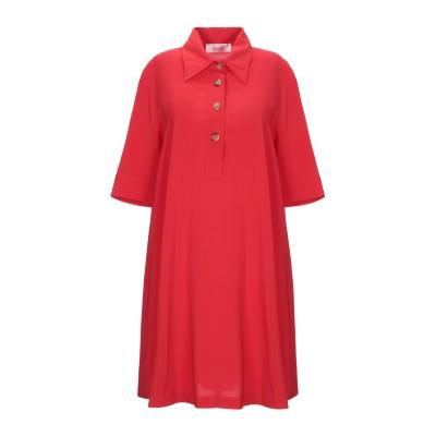 ジャッカ JUCCA ミニワンピース&ドレス レッド 42 レーヨン 95% / ポリウレタン 5% ミニワンピース&ドレス