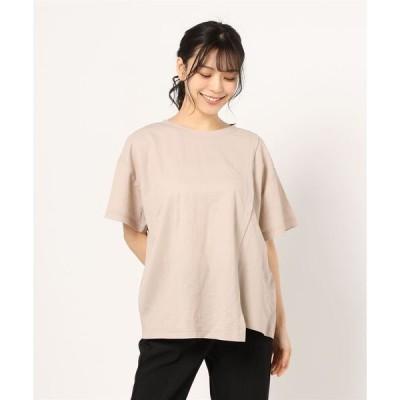 tシャツ Tシャツ 【接触冷感】【UVカット】切り替えデザインカットソー