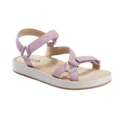 アース レディース サンダル シューズ Women's Sylt Saba Adjustable Sandal Lilac