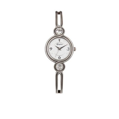 ブライトン レディース 腕時計 アクセサリー Silver-Tone Infinity Sparkle Watch