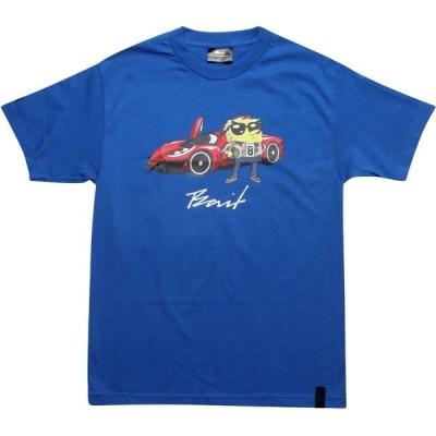 BAIT メンズ Tシャツ トップス x SpongeBob SpongeBob SquarePants Tee royal blue