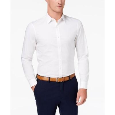 マイケル コース Michael Kors メンズ シャツ トップス Stretch Shirt White