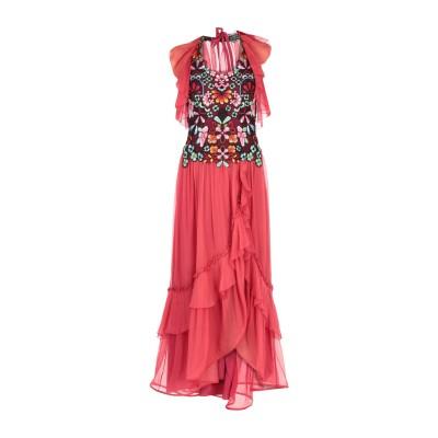 アルベルタ フェレッティ ALBERTA FERRETTI ロングワンピース&ドレス レッド 44 シルク 100% ロングワンピース&ドレス