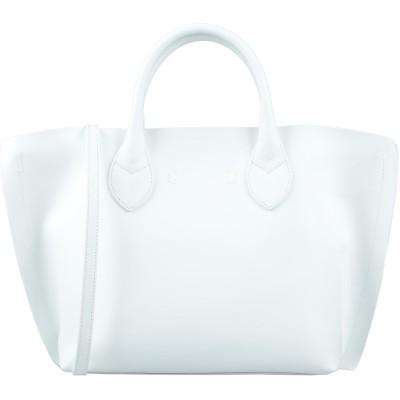 INNUE' ハンドバッグ ホワイト 革 ハンドバッグ