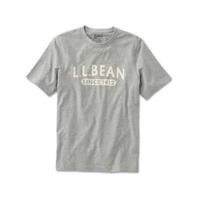 L.L.Bean / メンズ グラフィック・ケアフリー・アンシュリンカブル・ティ、半袖 エル・エル・ビーン 1912 ジャパン・フィット MEN トップス > Tシャツ/カットソー
