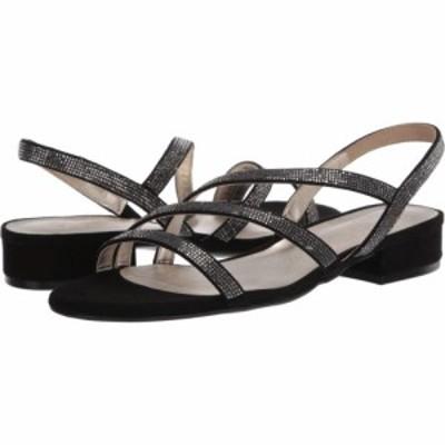 ナチュラライザー Naturalizer レディース サンダル・ミュール シューズ・靴 Maya Black Microfiber