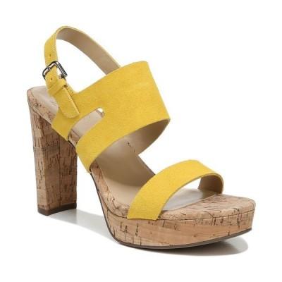 ナチュライザー サンダル シューズ レディース Marla Platform Sandals Daisy Yellow