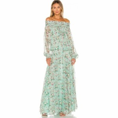 Eywasouls Malibu レディース ワンピース ワンピース・ドレス Monique Dress Pale Blue Millefleur Print