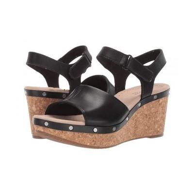Clarks クラークス レディース 女性用 シューズ 靴 ヒール Annadel Clover - Black Leather