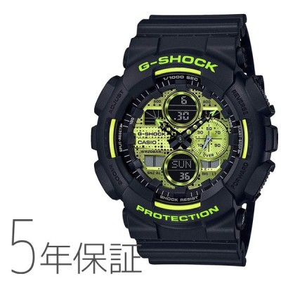 G-ショック G-SHOCK カシオ CASIO Black and Yellow Series 腕時計 メンズ GA-140DC-1AJF